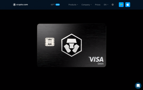 crypto.com visa USA Bitcoin debit card