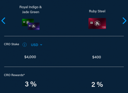 royal indigo, jade green & ruby steel card